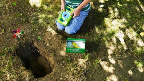Darf ich mein Haustier im eigenen Garten begraben?