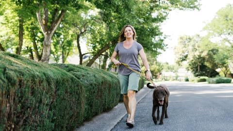 Nach Spaziergang mit Hund hat junge Frau plötzlich seltsame Zeichen auf ihren Beinen