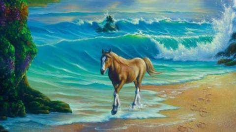 Die meisten Menschen verzweifeln: Keiner findet alle Pferde im Bild