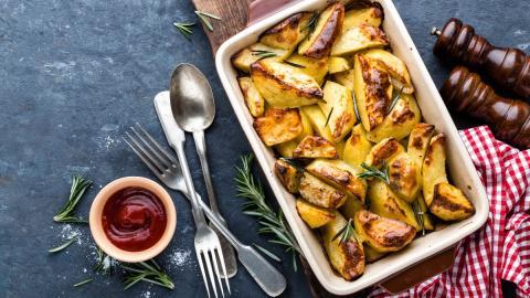 Leicht gemacht: Schnelles Rezept für leckere Ofenkartoffeln mit Rosmarin