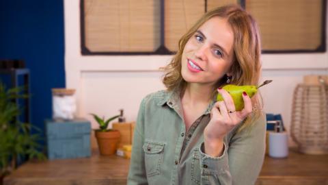 Low Beauty: So wird deine Haut dank einer Birne superweich