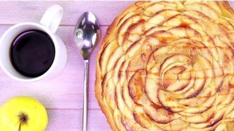 Apfelkuchen-Rezept: Ganz einfache Schritte für ein knuspriges Ergebnis