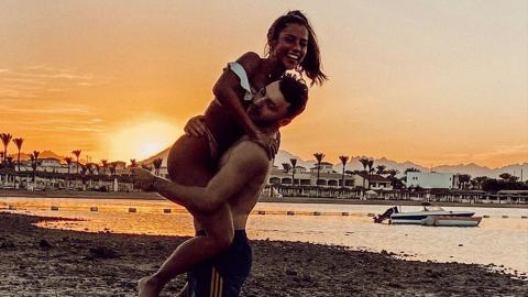 """""""Ich liebe ihn einfach"""": Sarah Lombardi verbringt Silvester-Urlaub mit Tanzpartner"""
