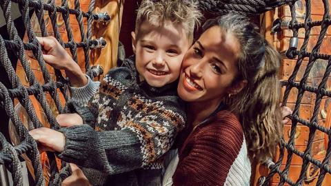 """""""Er muss sich austoben"""": Sarah Lombardi geht trotz Warnungen mit Alessio auf den Spielplatz"""