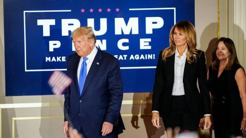 Wie geht es für Melania und Donald Trump weiter?