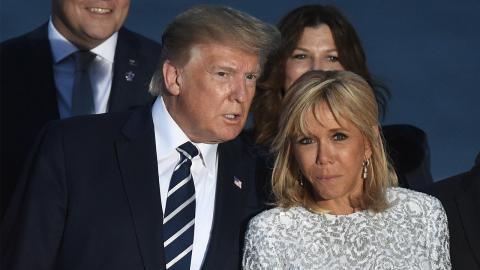 Brigitte Macron: Diese geschmacklose Bemerkung von Donald Trump wird sie nie vergessen