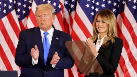Trump-Scheidung: Das wären die Folgen für Melania!