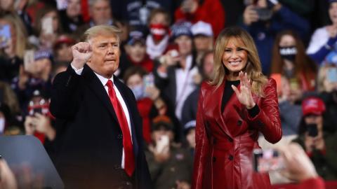 Melania Trump: Sie zieht mit ihren Eltern nach Florida