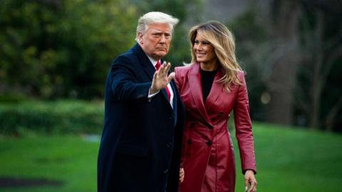Melania und Donald Trump: Heikles Detail über ihr Privatleben aufgedeckt