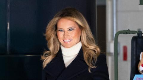 Melania Trump: Die neue Schule für Barron hat einen kleinen Haken