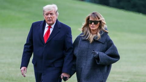 Donald Trump und seine Affären: Melania entdeckt Make-Up einer fremden Frau!