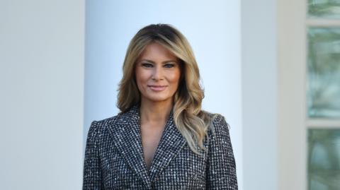 Letzte Worte als First Lady: Donald Trump kommt in Melanias Abschiedsrede kaum vor