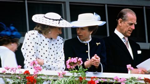 Lady Diana: Mit diesem Geschenk für Prinzessin Anne liegt sie voll daneben