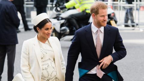 Harry und Meghan: Die wahre Bedeutung von ihrem Babybauch-Foto