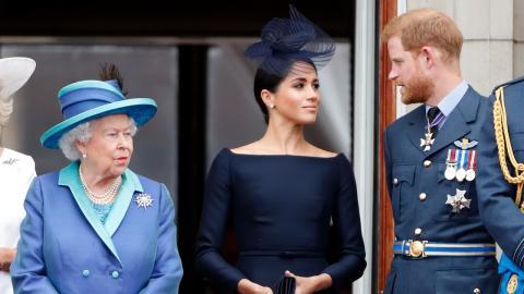 Elizabeth II enttäuscht von Meghan und Harry: Ist es nun ein für alle Mal aus?