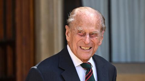 Prinz William macht vage Angaben zum Zustand von Prinz Philip