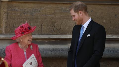 """""""Muss die Werte der Familie wahren"""": Die Queen spricht Tacheles mit Enkel Harry"""