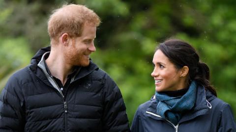 """Harry und Meghan verraten: Gucken sie die Royals-Serie """"The Crown""""?"""
