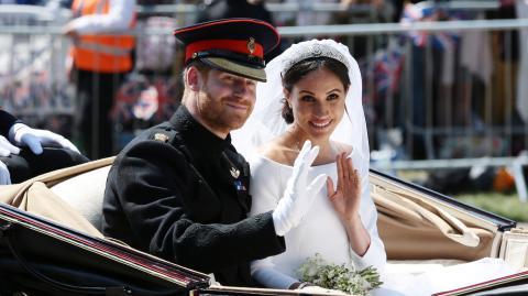 Meghan Markle und Harry schon vor offizieller Trauung verheiratet? Der Beweis für ihre Lüge