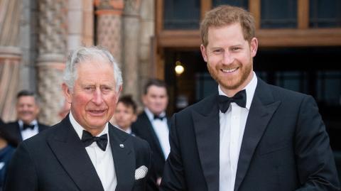 Prinz Harry: So versucht er seine Beziehung zu Prinz Charles zu retten