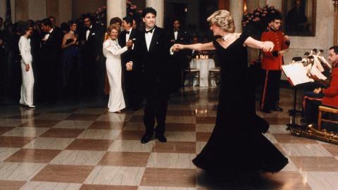John Travolta spricht über die magische Nacht mit Lady Diana