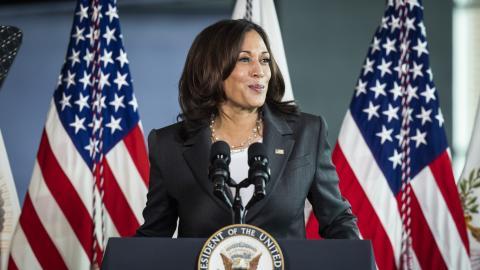 Als erste Vizepräsidentin: Kamala Harris bekommt Wachsfigur bei Madame Tussauds