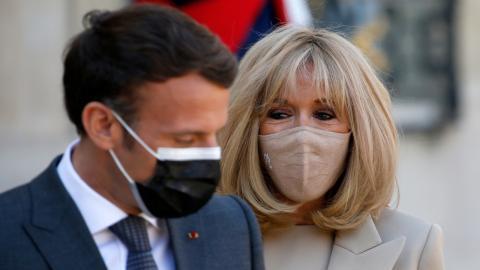 Zieht Brigitte heimlich die Strippen? Emmanuel Macron spricht Klartext