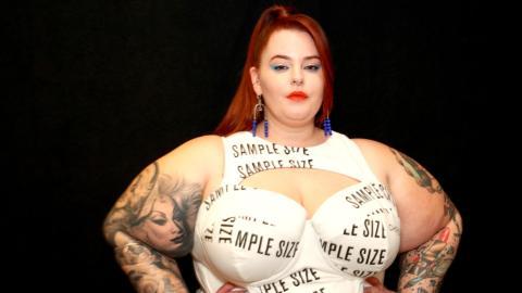 Mutiges Statement von Tess Holliday: Plus-Size-Model kämpft gegen die Magersucht