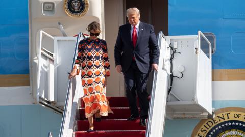 Donald und Melania Trump: Trennung diesen Sommer?
