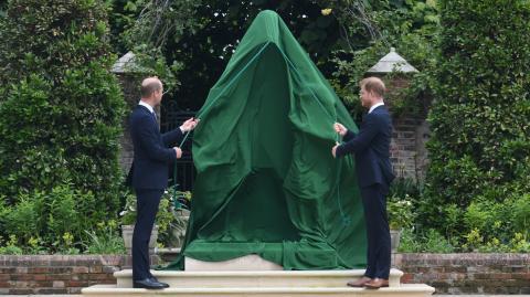 Enthüllt: So sieht Dianas Statue aus
