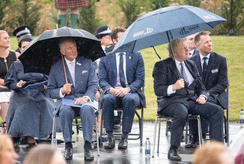 Prinz Charles: Der zukünftige Monarch macht sich über Boris Johnson lustig