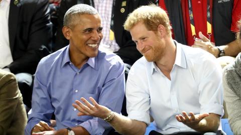 Telefonat mit Barack: Prinz Harry muss die Freundschaft zu den Obamas retten