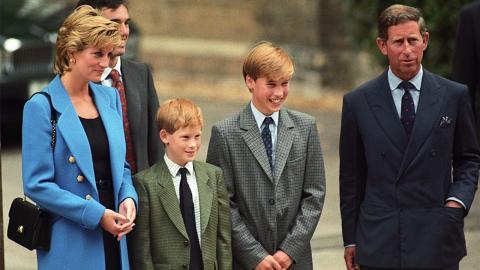 Nach Tod von Lady Di: Charles verwehrt Harry damals eine traurige Bitte