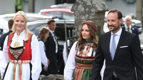 Norwegens Prinzessin hat Corona: Vater Haakon verrät, wie es ihr geht