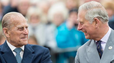 Prinz Philip: Das waren seine letzten Worte an Sohn Charles