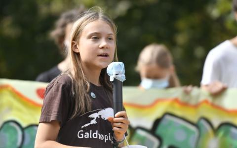 Zusammen mit einem Israel-Hasser? Auf Greta Thunberg wird erneut Hetzjagd gemacht