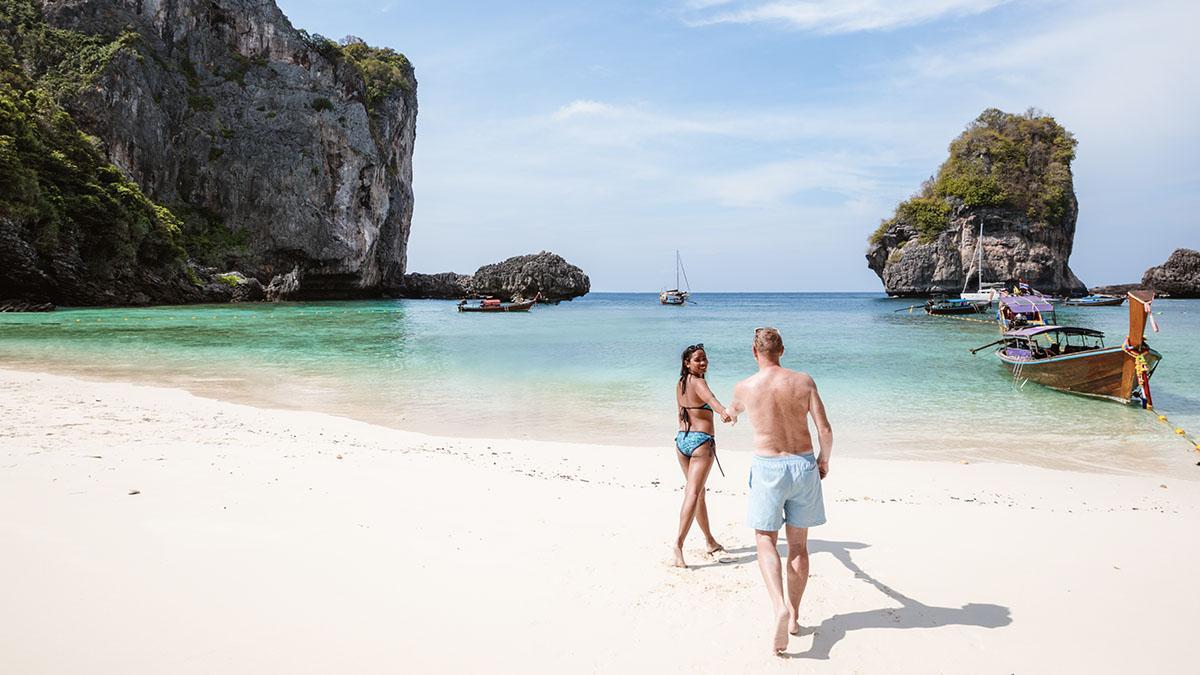 Gefährlich: Paar riskiert sein Leben für das perfekte Urlaubsbild